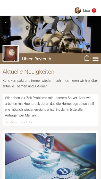 Uhren Bayreuth screenshot 1