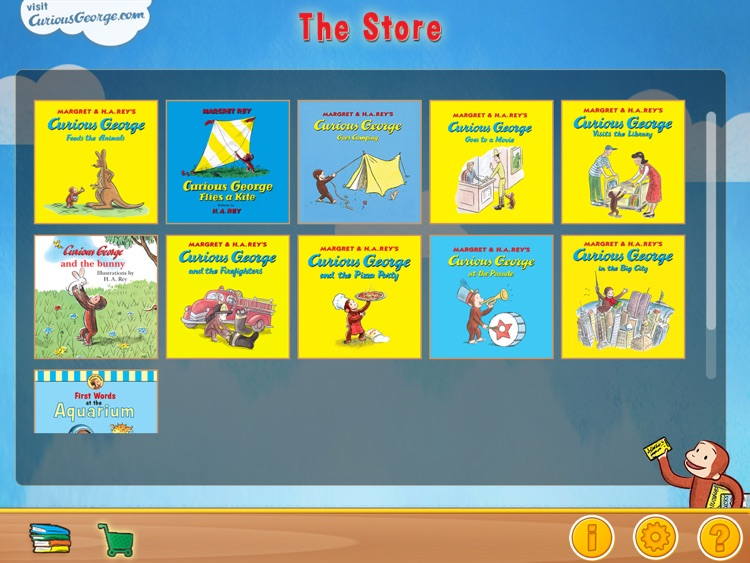 Curious George: Book Reader screenshot-2