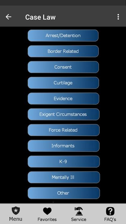 The US Police App! screenshot-9
