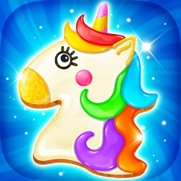Sweet Unicorn Rainbow Cookies