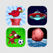 Crazy Bird, Asteroids Attack, Save the Dog, Tap the Asteroids, Goalkeeper Soccer