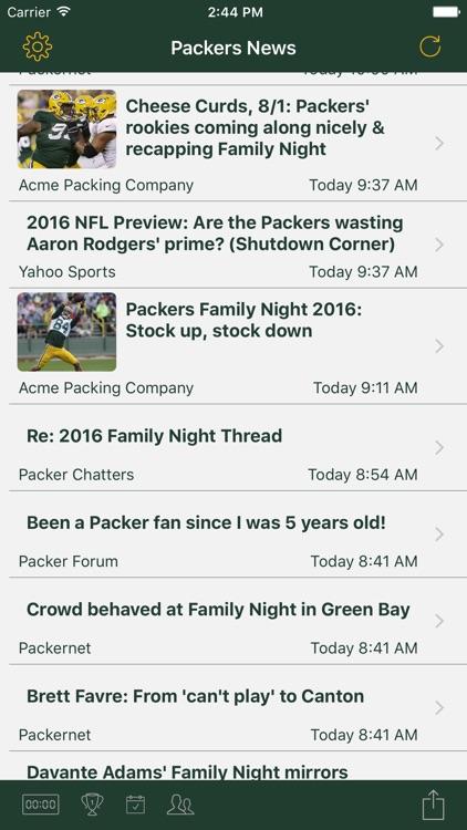 Football News - Packers