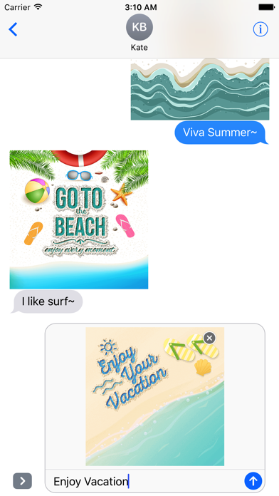 Summer Quotes & Message written on the Sand screenshot 4