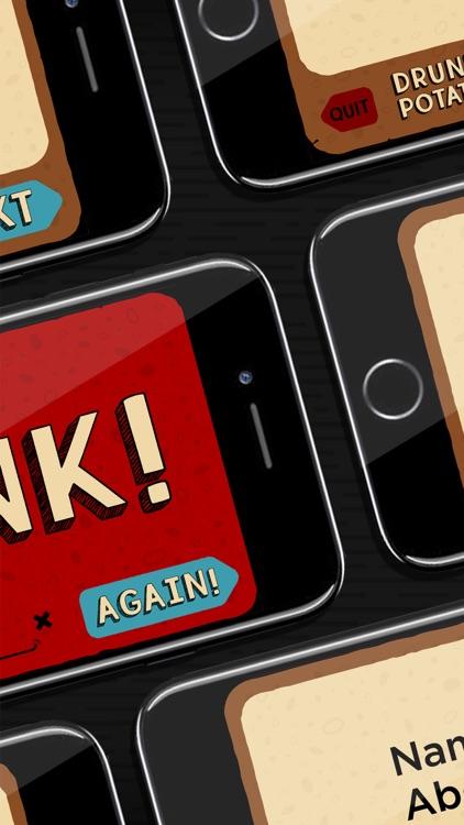 Drunk Potato: A Drinking Game screenshot-3