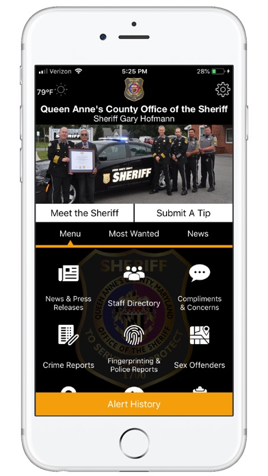 Queen Anne's Sheriff