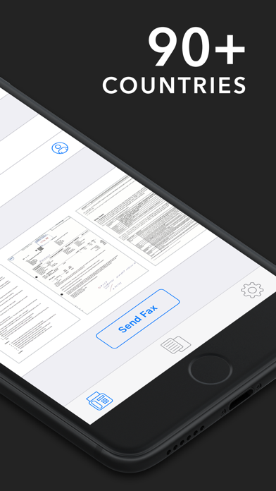 Fax App - Send Fax from iPhone Screenshot