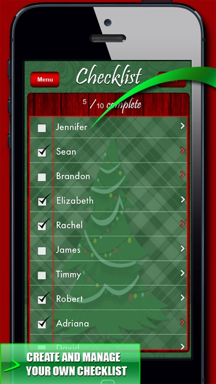 Christmas Gift Organizer! screenshot-1