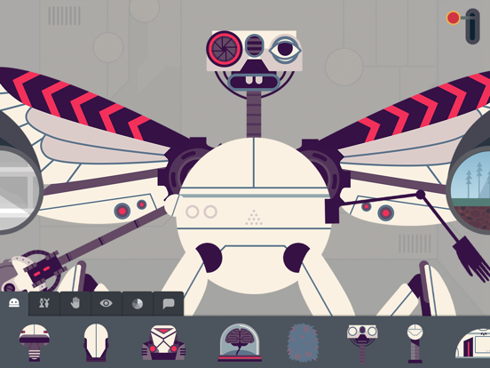 The Robot Factory by Tinybop screenshot