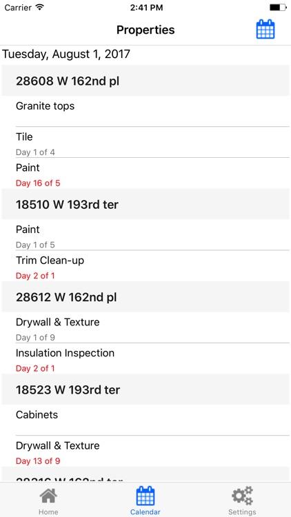 Builder Calendar screenshot-3
