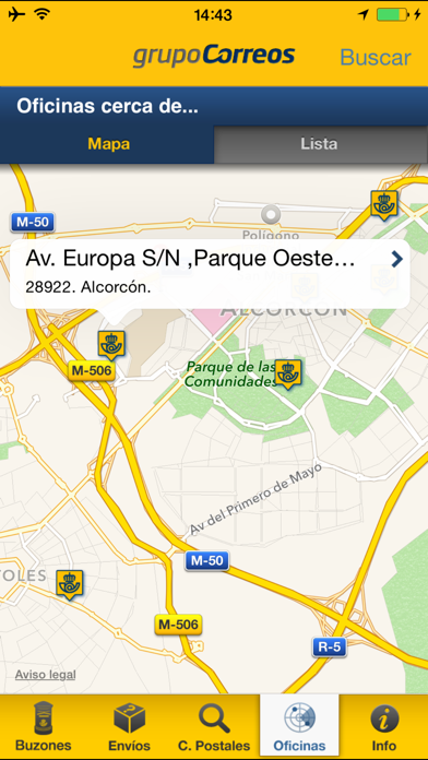 download Correos Info apps 0