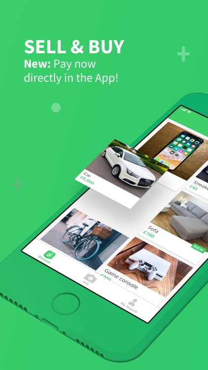 Shpock - Sell & Buy Used Stuff screenshot-0