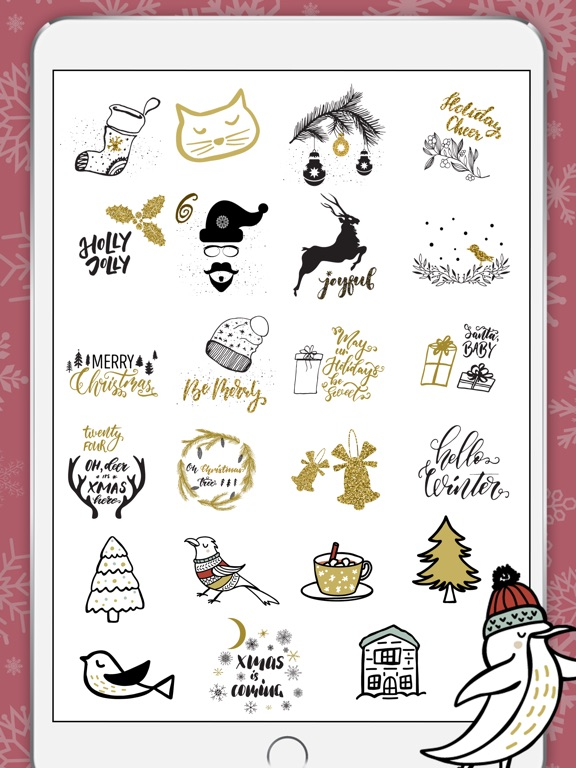 Winter holidays greetings app price drops screenshot 1 for winter holidays greetings m4hsunfo