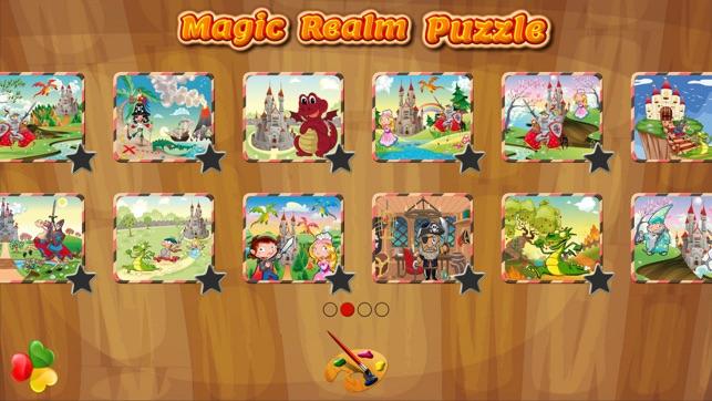 Princess Puzzle Games for Kids Screenshot