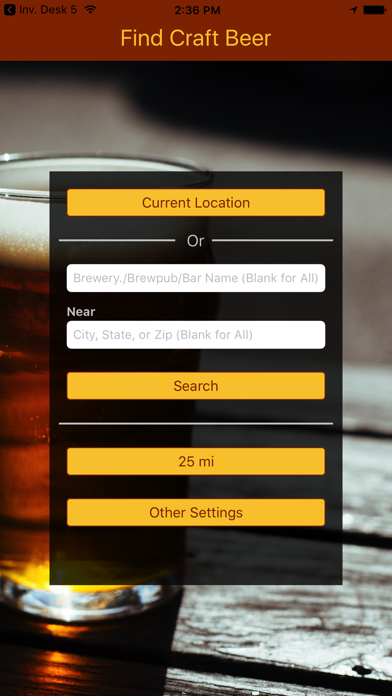 Find Craft Beer review screenshots
