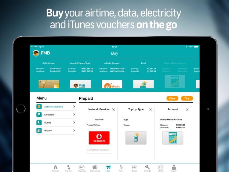 FNB Banking App for Tablet screenshot-4
