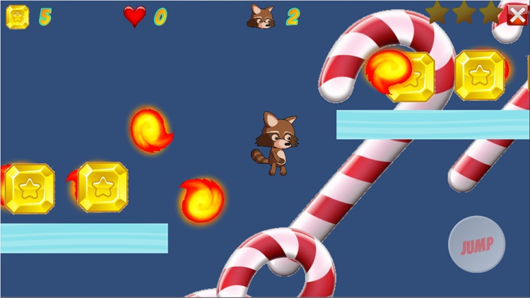 Fireball Run Retro Arcade Game