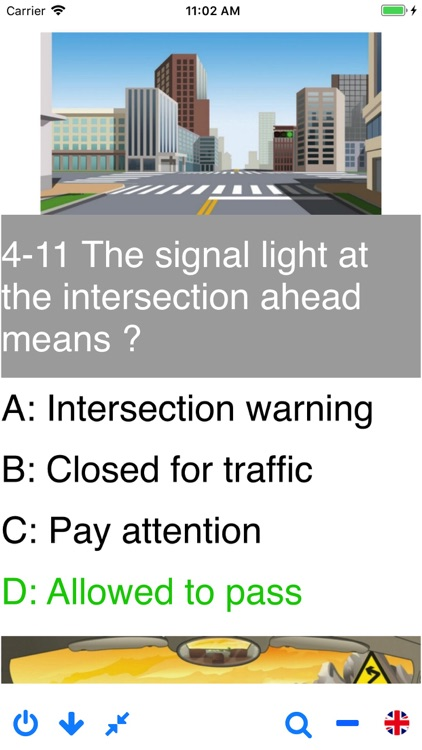 Driving in China - theory test screenshot-3