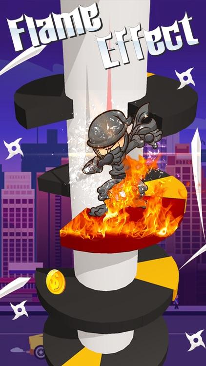 Ninja Helix Jump screenshot-3