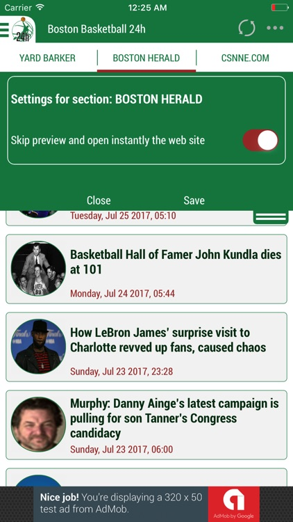 24h News for Boston Celtics