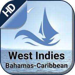 West Indies - (Bahamas & Caribbean) boating charts