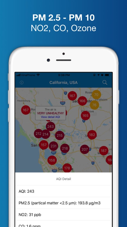 Air Quality - PM 2.5 Index