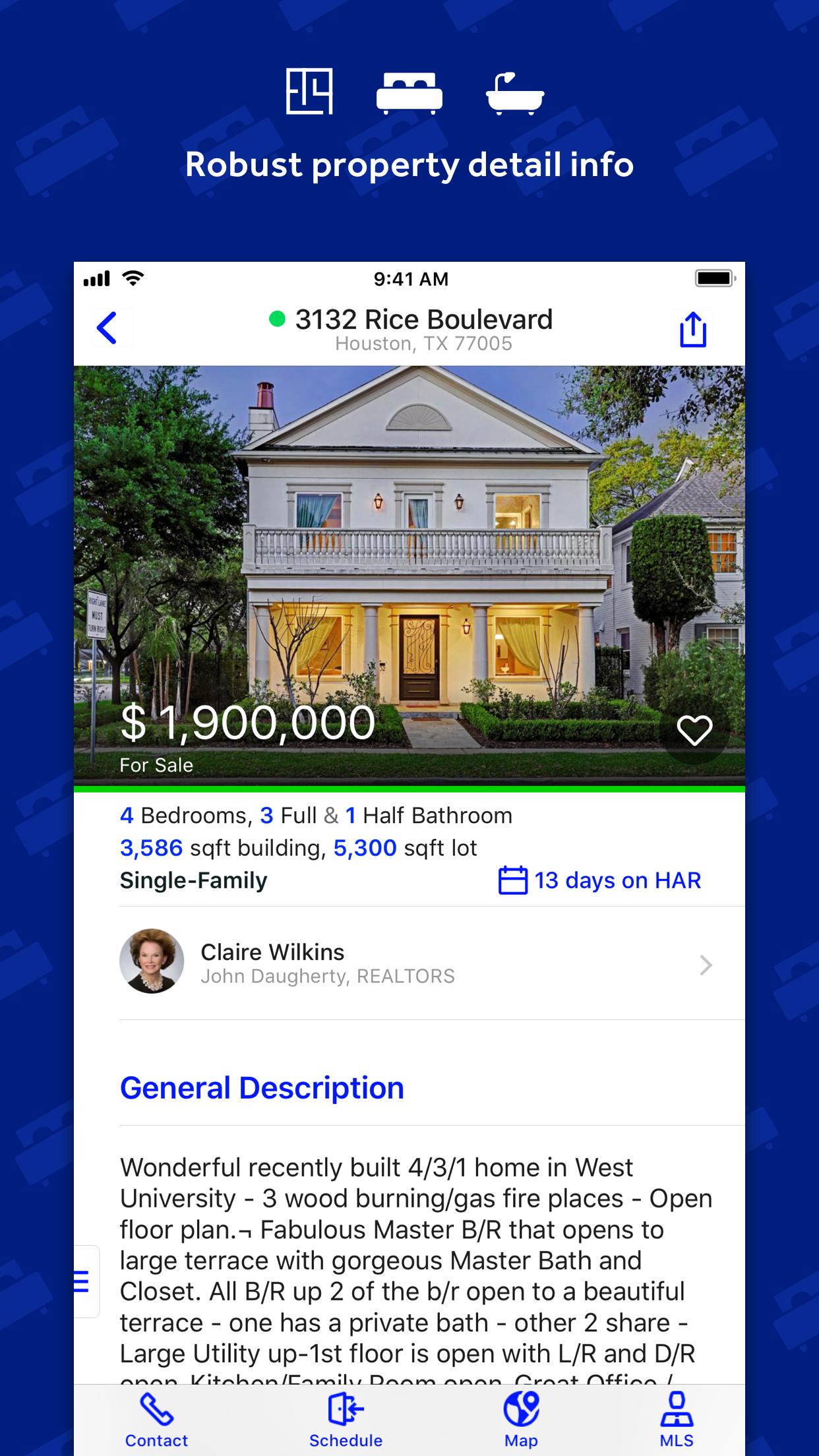 HAR.com Texas Real Estate Screenshot
