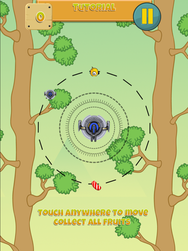 Birds Escape-Fly in circles, game for IOS