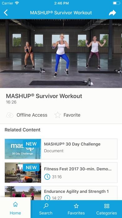 MASHUP® screenshot three