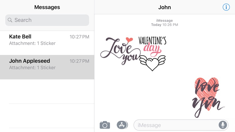 Love Valentines Day Sticker 14 screenshot-4