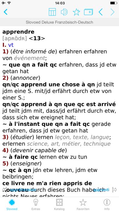 Wörterbuch Französisch Deutschのおすすめ画像1