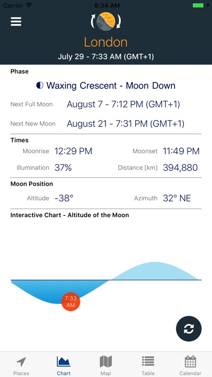 Sky Tracker -Sun & Moon Positions, Eclipse, Shadow screenshot-4