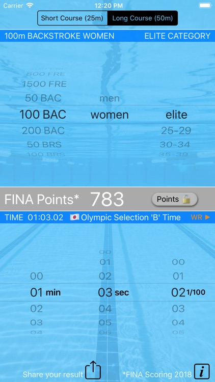Swim Points: Elite and Masters screenshot-3