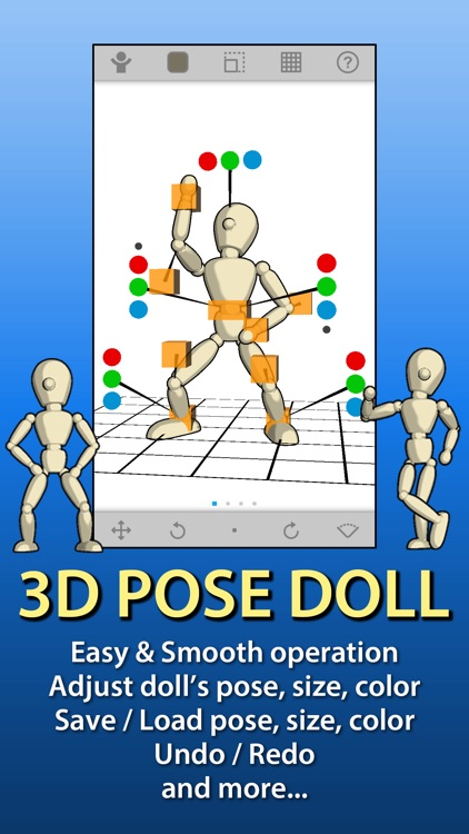 3D POSE DOLL