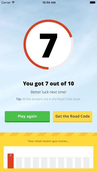Screenshot for AA Road Code Quiz in New Zealand App Store