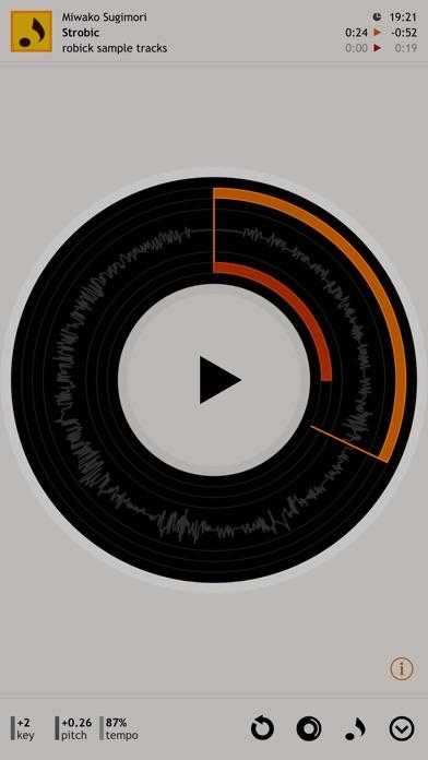 robick - 耳コピ用プレイヤー screenshot1