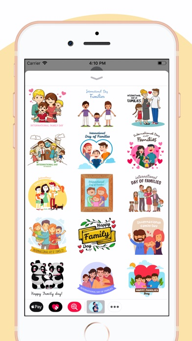 download Family Day Together Stickers apps 2