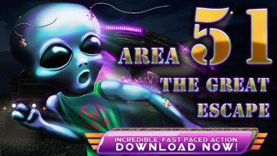 Alien Space Defense - Area 51 Rescue Run Frontier