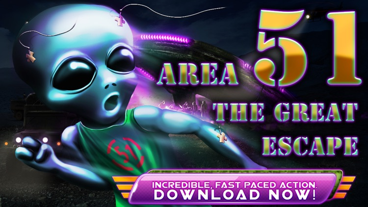 Area 51 Alien Attack: a Shooter Classic Game by Nine 54
