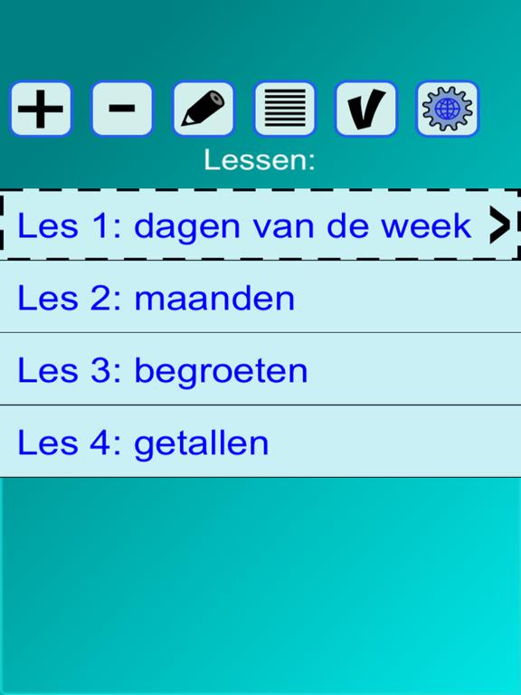 Woorden EN (Taalles Engels) screenshot 7