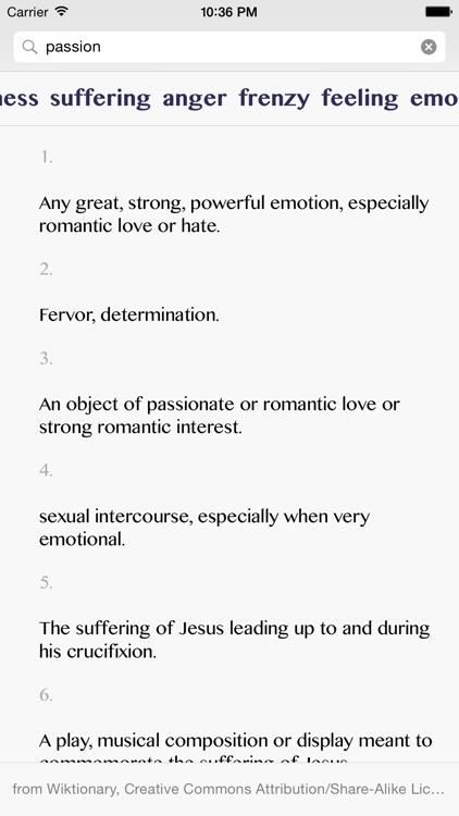 Writing Aid — Dictionary screenshot-4