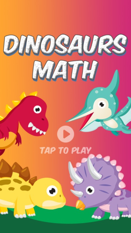 Dinosaurs Math - 3rd Grade screenshot-0