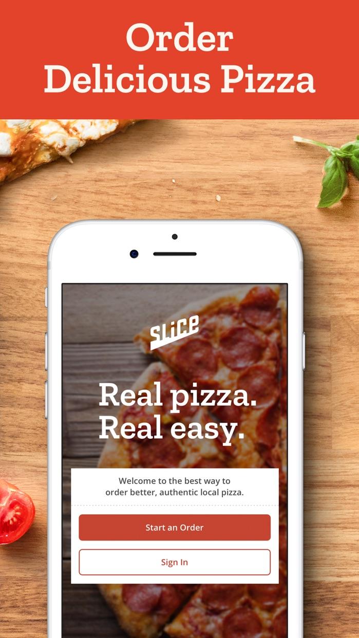 Slice: Pizza Delivery & Pickup Screenshot