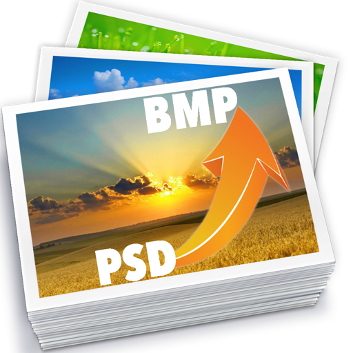 PSD To BMP - Convert multiple Images & Photos