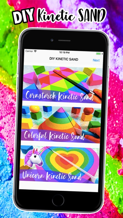DIY Kinetic Sand Recipe screenshot one