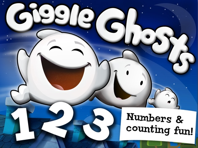Giggle Ghosts: Counting Fun! Screenshot