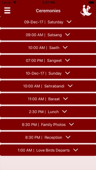 Image of Mangal kaarj: srikant-nikita for iPhone