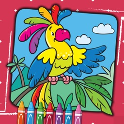 Kids Coloring Book - Drawing
