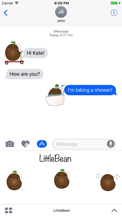 LittleBean Stickers