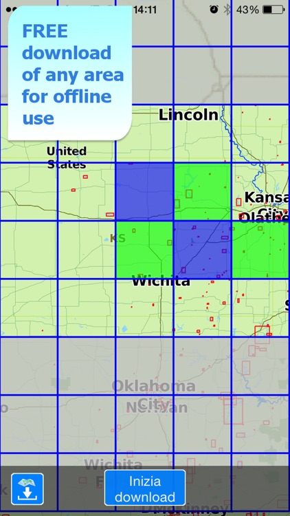 Aqua Map Kansas Lakes GPS screenshot-5