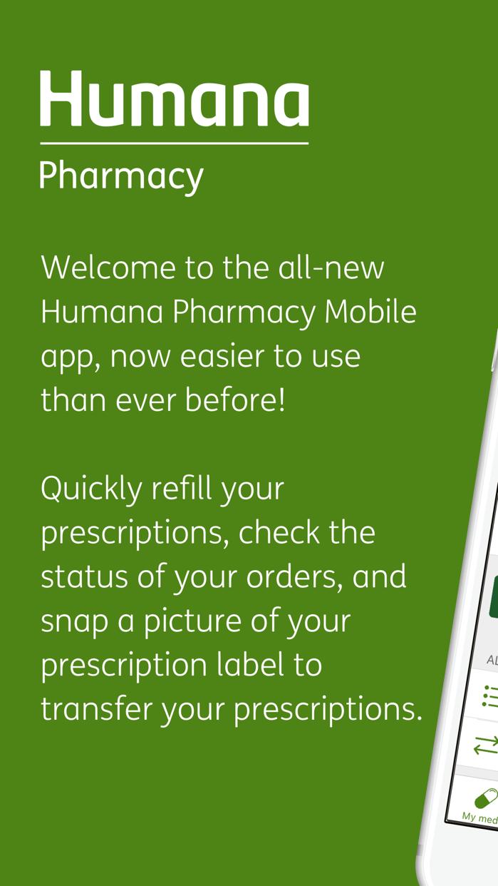 Humana Pharmacy Screenshot